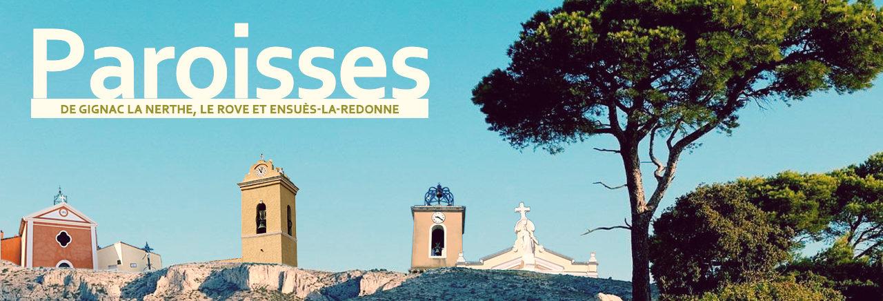 Paroisses de Gignac-la-Nerthe, Le Rove et Ensuès-la-Redonne